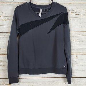 Fabletics Mesh Accent Sweatshirt
